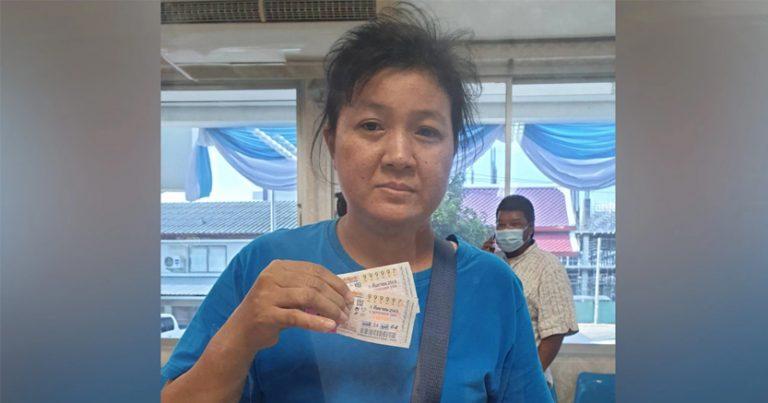 สาวโรงงานดวงเฮง ถูกหวยรางวัลที่ 1 เตรียมหอบเงิน 12 ล้าน กลับบ้านเกิด